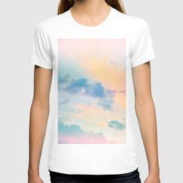 Unicorn Pastel Clouds #6 #decor #art #society6 T-shirt