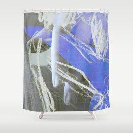 Mano (en espera) Shower Curtain