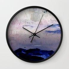 Winter Pond Wall Clock