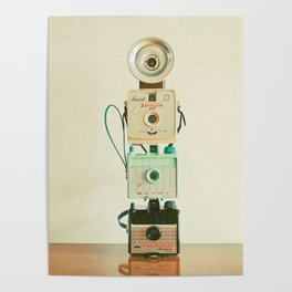 Tower of Cameras Poster