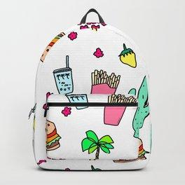 Dear My Lovely California - southwest palm springs beach sun city los angeles retro pop art Backpack