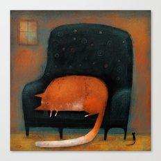TINY MOUSE Canvas Print