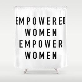Empowered Women Duschvorhang