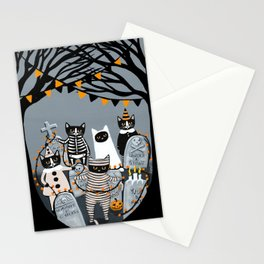 Decorating the Cemetery  Stationery Cards