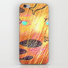 Golden sea iPhone & iPod Skin