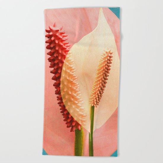 Calla Beach Towel
