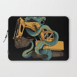 Excavator vs Anaconda Laptop Sleeve