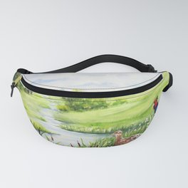 Summer Meadows And Pheasants Fanny Pack