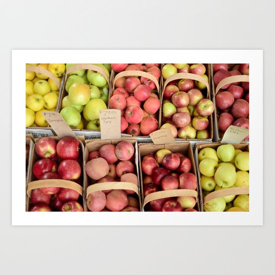 Apple Spectrum Art Print