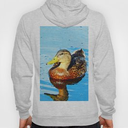 Duck in a pond Hoody