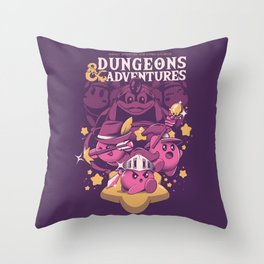 Dungeons and Adventures Throw Pillow