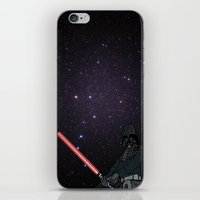 darth vader iPhone & iPod Skins featuring Darth Vader  by Rebecca Bear