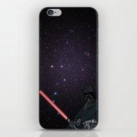 darth vader iPhone & iPod Skins featuring Darth Vader  by Rebecca Bear