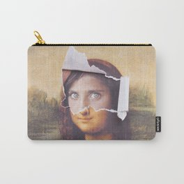 Afghan Mona Lisa Carry-All Pouch