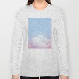 Dreamy Cotton Blue Sky Long Sleeve T-shirt