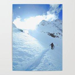 Mountain photography / Mountain & Snow Poster Poster
