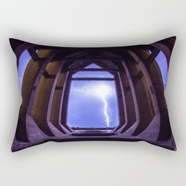 Framed Lightning Rectangular Pillow