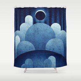 The Moon - Ina Caldera Shower Curtain