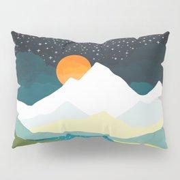 Winters Night Pillow Sham