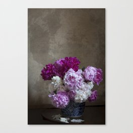 Peonies from Foss Canvas Print