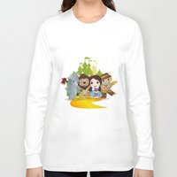 oz Long Sleeve T-shirts featuring Oz by 7pk2 online