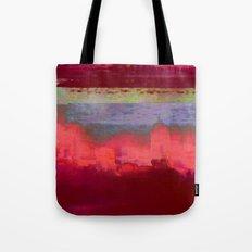 14-42-41 (City Glitch) Tote Bag