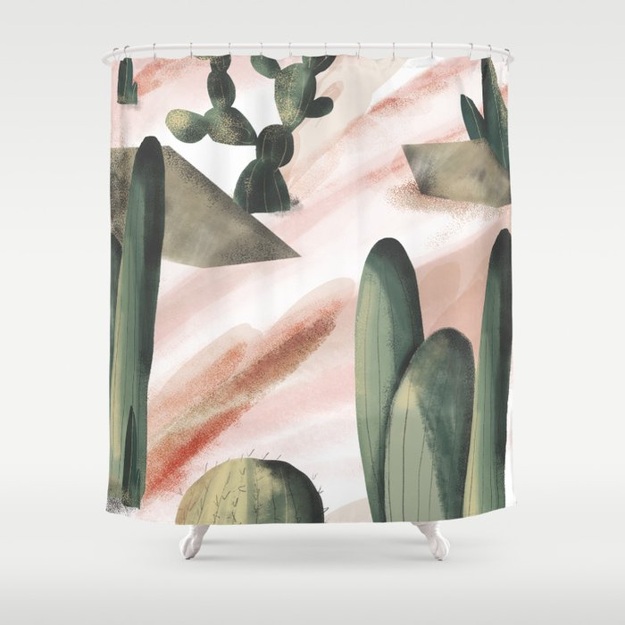 Pasancana & Quehualliu Shower Curtain