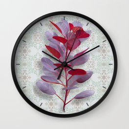 Royal Purple Wall Clock