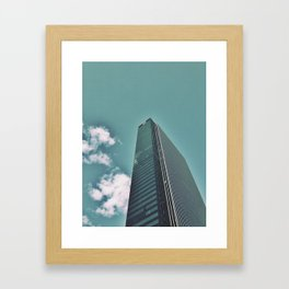 I love this building on so many levels  Framed Art Print