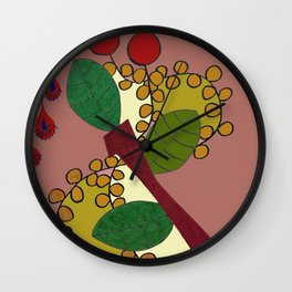 SPRING IN MADEIRA Wall Clock
