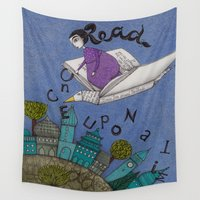 read Wall Tapestries featuring Read by Judith Clay