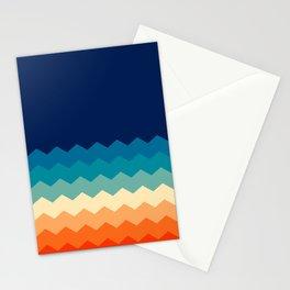80s flat palette Stationery Cards