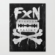 Fiction Design Canvas Print