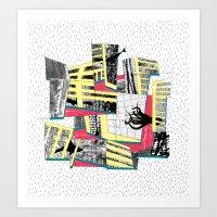 il diluvio Art Print