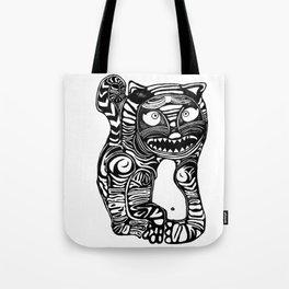Woah Cat Tote Bag