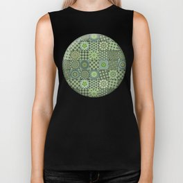 Green Valley Quilt Biker Tank