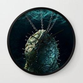The Xenobite Egg Wall Clock