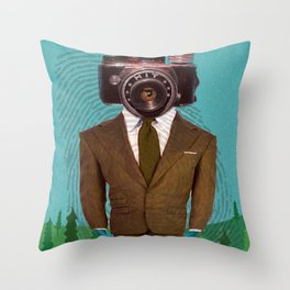 Dept. Of Disappearance Throw Pillow