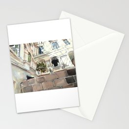 Statue Room in the Louvre Stationery Cards
