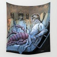 nightmare Wall Tapestries featuring Nightmare by Robert Elrod