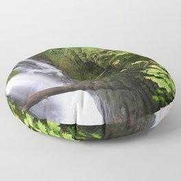 Sol Duc Falls Floor Pillow