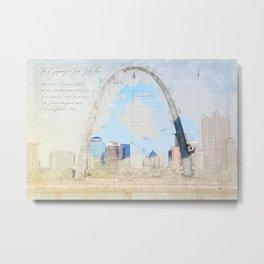 Gateway Arch, Saint Louis USA Metal Print
