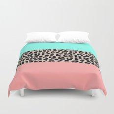 Leopard National Flag VIII Duvet Cover