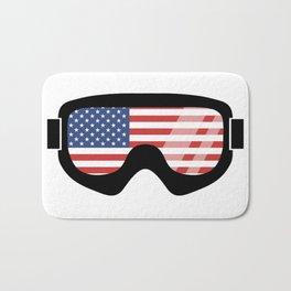 USA Goggles | Goggle Designs | DopeyArt Bath Mat