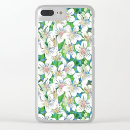 The memory of Tung Blossom Clear iPhone Case