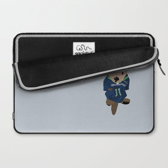 The Littlest Seahawks Fan Laptop Sleeve