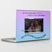 clueless Laptop & iPad Skins featuring Clueless x Monet by Lisa-Roxane Lion