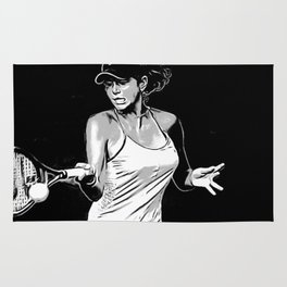 Julia Gorges Forehand Rug