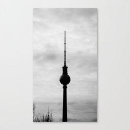 TV Tower Canvas Print