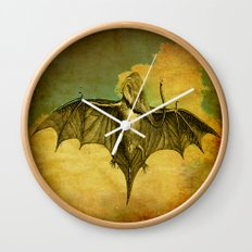Bat - Elephant  Wall Clock